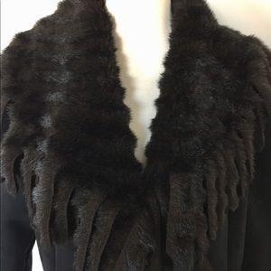 Jackets & Blazers - THE LOOK RANDOLPH DUKE FAUX SUEDE/SHEARLING COAT